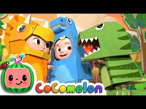Dinosaur Song | CoComelon Nursery Rhymes & Kids Songs