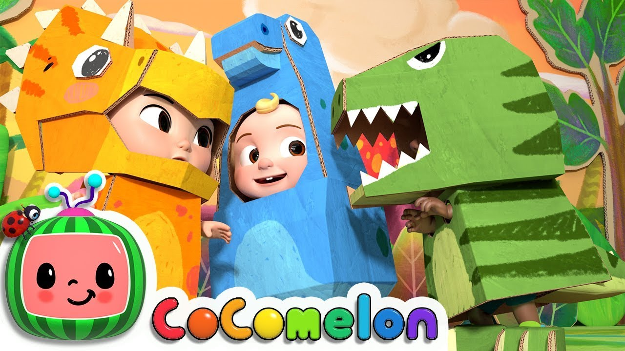 Dinosaur Day Song | CoCoMelon Nursery Rhymes & Kids Songs