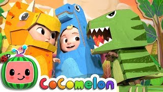 Gambar cover Dinosaur Day Song | CoCoMelon Nursery Rhymes & Kids Songs