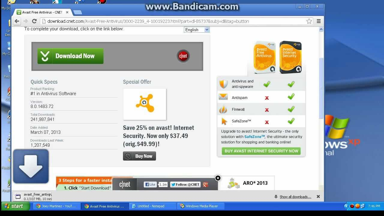 Avast Free Anti Virus License Key - YouTube