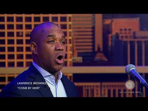 Opera singer Lawrence Brownlee performs