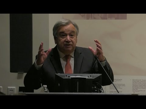 Cities and refugees: Closing remarks by António Guterres