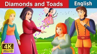 Diamonds and Toads Story in English   Bedtime Stories   English Fairy Tales