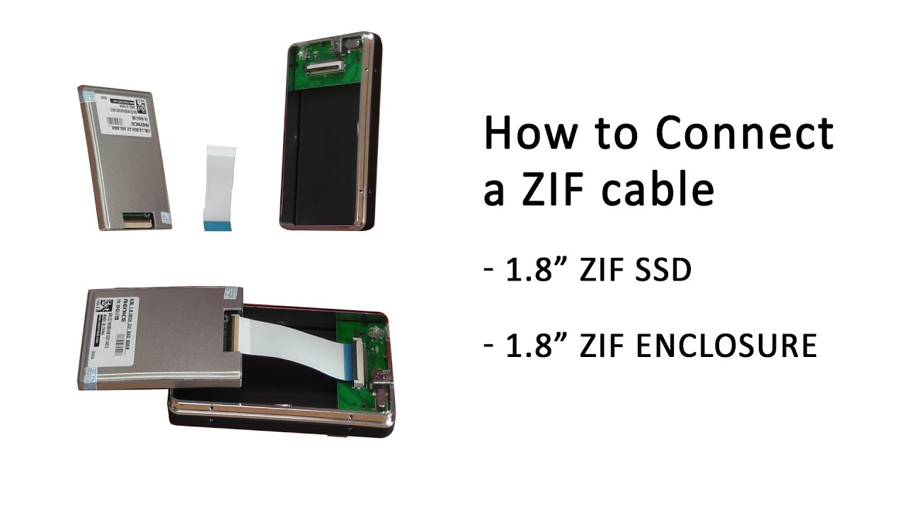Tutorial How To Correctly Connect A Zif Cable Into A 1 8