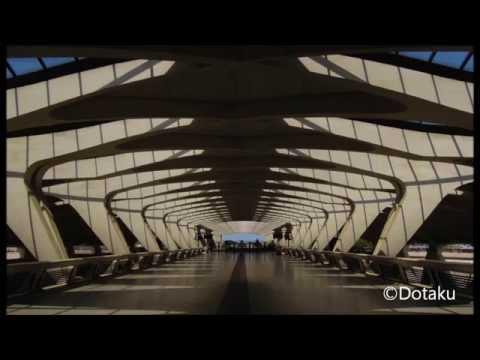 Lyon St Exupéry Airport TGV Station by Calatrava