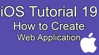 iOS tutorial- Part 19- Create Web Application, UIWebView