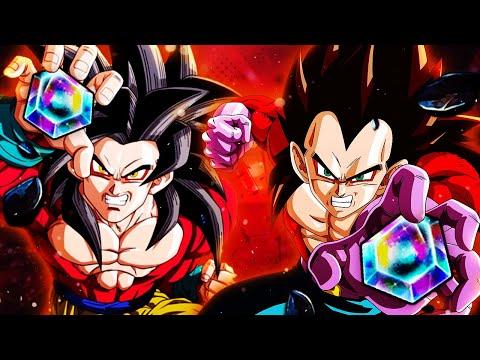 (Dragon Ball Legends) Fire Alert! Super Saiyan 4 Step-Up Summons With Raiyuden!