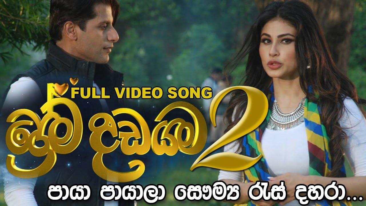 Prema Dadayama New Song ප්රේම දඩයම 2 තේමා ගීතය - Paya Payala පායා පායාලා full Video Song #1
