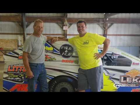 Jeff Leka Racing.  Prairie Dirt Classic 2016 day 2