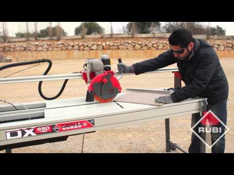 Wet Saw Tile Cutter - Cortador Eléctrico RUBI DX 250