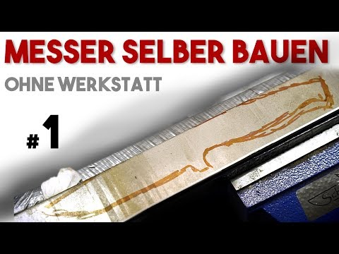 messer selber bauen herstellen anleitung diy video 2 doovi. Black Bedroom Furniture Sets. Home Design Ideas