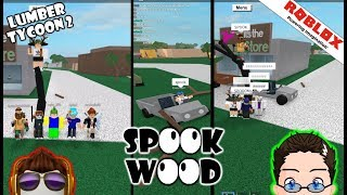 Roblox - Lumber Tycoon 2 - Gold Ramp, and Spook Tree!!!! :D