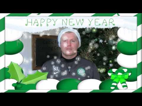 Celtic FC - 2014 New Year wishes from Neil Lennon