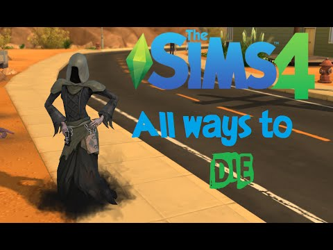 SIMS 4: ALL WAYS TO DIE & GHOSTS! [HD]