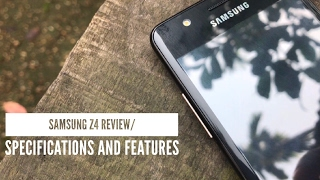 Samsung Z4 Full Review/ Does Tizen have something for Android???