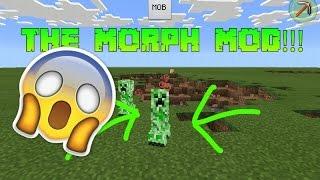 ★Minecraft PE: The MORPH Mod!!!