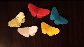 Бабочка из бумаги (Butterfly paper)(Видео покажет как сделать объемную #бабочку из бумаги. ▽ ПОЛЕЗНАЯ ИНФОРМАЦИЯ НИЖЕ ツ ▽..., 2016-04-28T17:58:22.000Z)