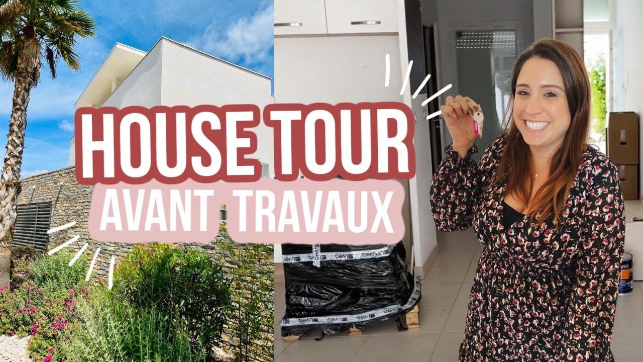 HOUSE TOUR 🏡 (avant travaux)