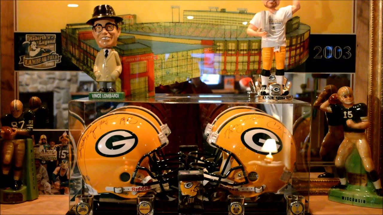 Packer Man Cave Signs : The ultimate packer fan cave youtube