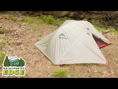 Msr Carbon Reflex 2 Backpacking Tent Youtube
