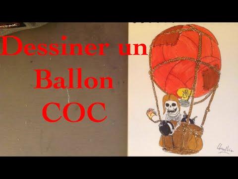 Comment dessiner un ballon de coc 14 youtube - Comment degonfler un ballon ...