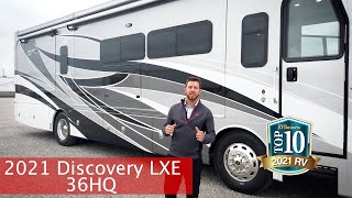 Fleetwood RV Official  2021 Discovery LXE 36HQ  TOP TEN RV!