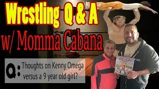 Kenny Omega v 9 Year Old Girl, Your Thoughts? | Colt's Mom Answers this question...