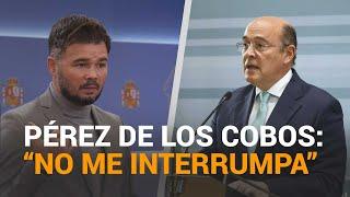 Tenso enfrentamiento entre RUFIÁN y DE LOS COBOS en la comisión del CASO KITCHEN | RTVE Noticias