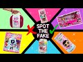 CAN YOU SPOT THE FAKE? Unboxing FAKE LOL SURPRISE TOYS! REAL vs FAKE LOL Surprise DOLLS