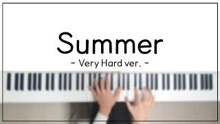Summer (Very hard ver.) - Hisaishi Joe   피아노 편곡 By. Lune Music (+악보) [다이나톤 ST220]