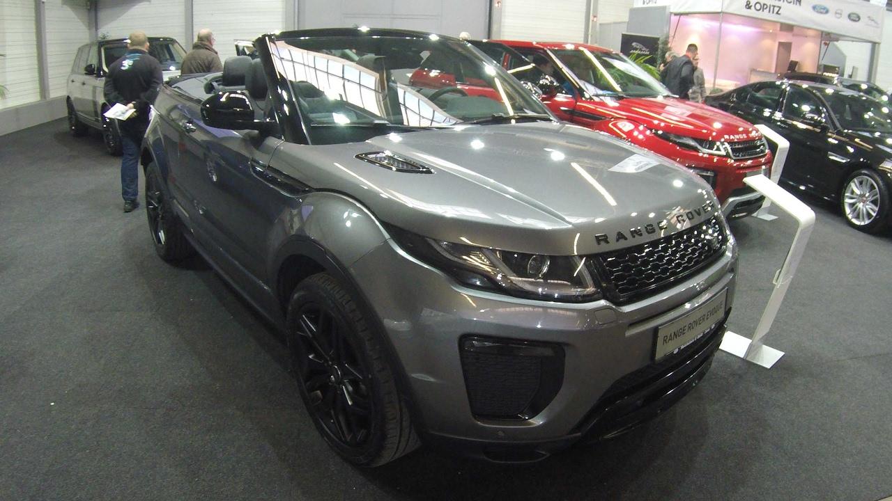 Land Rover Range Rover Evoque Cabriolet Compilation 2