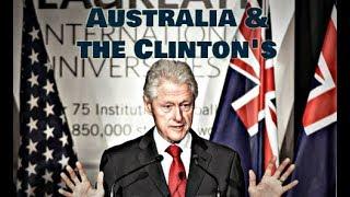 Australian Diplomat's ties to Clinton Foundation #QAnon #CBTS #FiveEyes