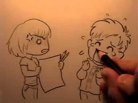 Hướng dẫn vẽ nhân vật hoạt hình