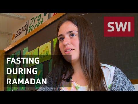 Fasting as a teenager during Ramadan