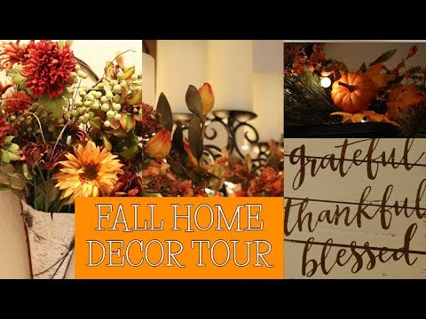 FALL HOME DECOR TOUR 2018 | COZY, SIMPLE, AFFORDABLE + DECORATING TIPS
