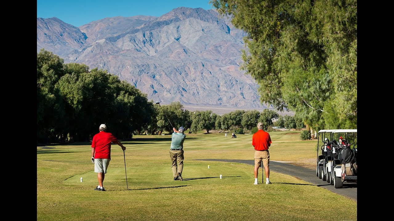 The Furnace Creek Golf Course at Death Valley The Lowest