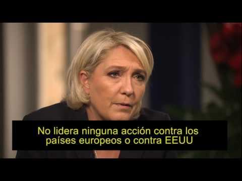 Marie Le Pen y su última entrevista a la BBC