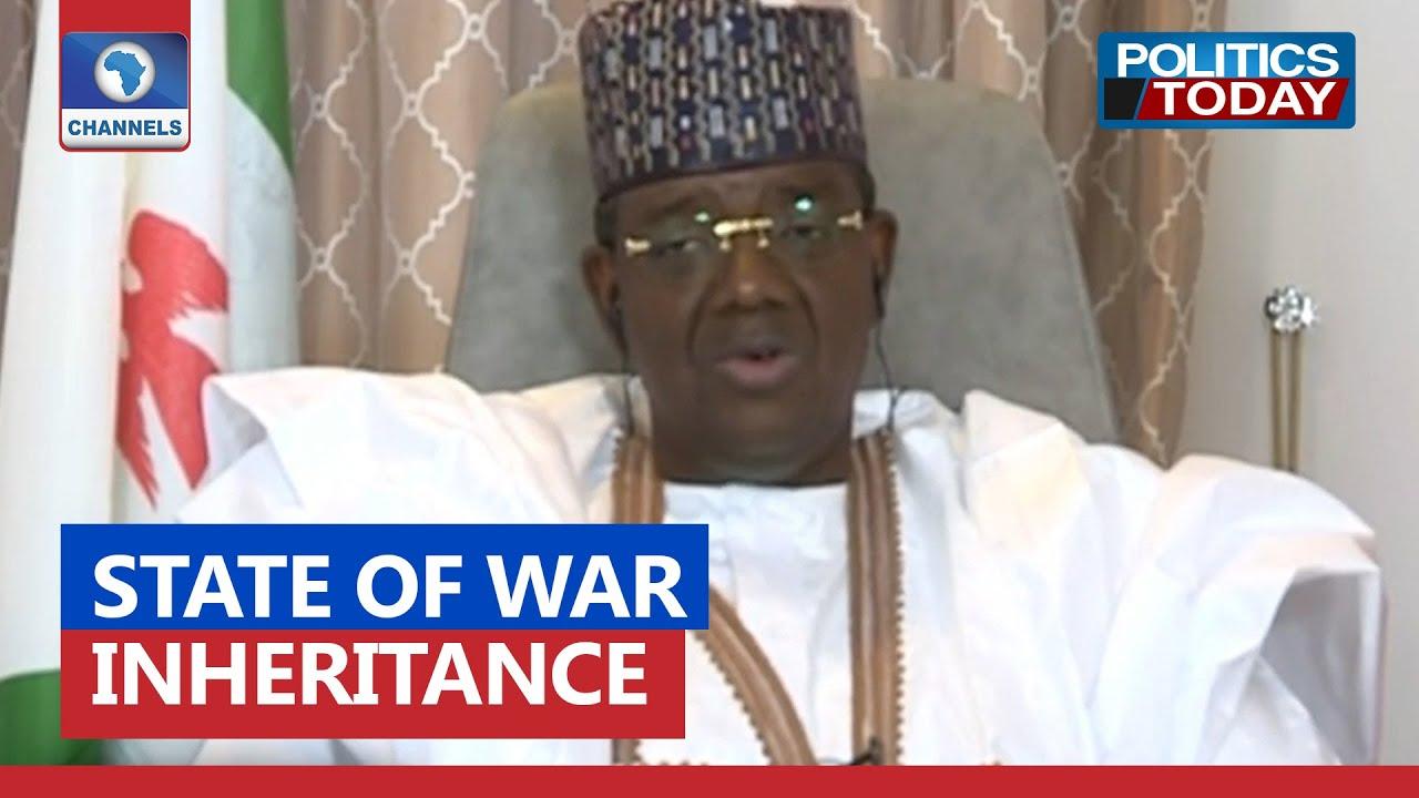 Download I Inherited State Of War In Zamfara – Gov Matawalle