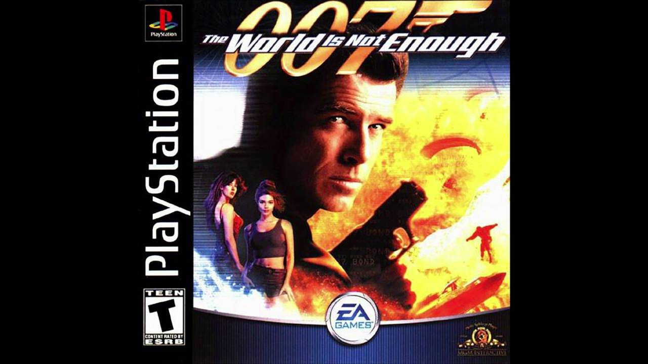 007 The World Is Not Enough Ps1 Courrier Mission Original Theme