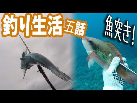 【0円生活】無人島で釣り生活【サバイバル】 #5