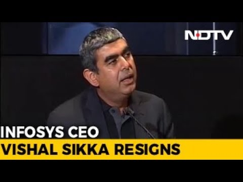Vishal Sikka Resigns As Infosys CEO Citing 'Personal' Attacks, Shares Tank