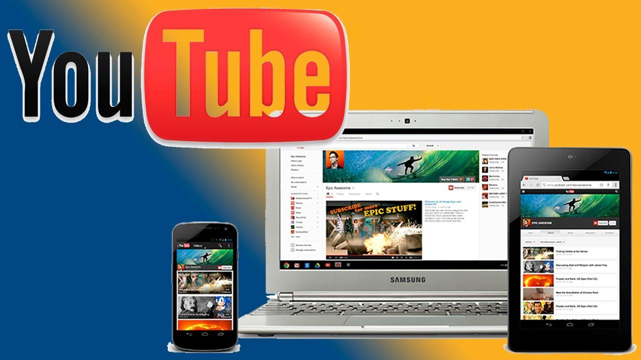 Resultado de imagen para nuevo diseño de youtube