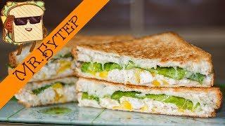 Сэндвич на Завтрак ○ Перекус в Школу и на Работу