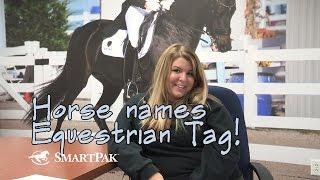 Horse Names Equestrian Tag - SmartPaker Olivia