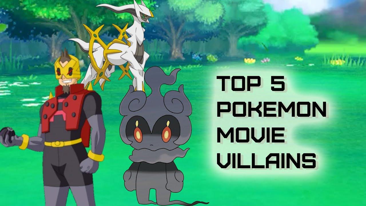 Download Top 5 Pokemon Movie Villains