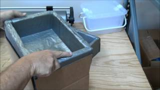 Making A Custom Foam Cooler Using Instapak Foam Ship Frozen Using Dry Ice Co2