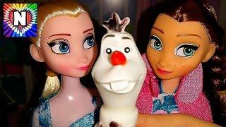 Куклы Эльза и Анна мультик Холодное сердце  Куклы пупсики для детей  Frozen Disney doll