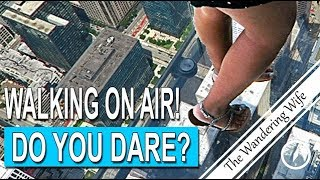 CHICAGO Willis Tower SKYDECK  (Formerly Sears Tower)  | TRAVEL VLOG #0090