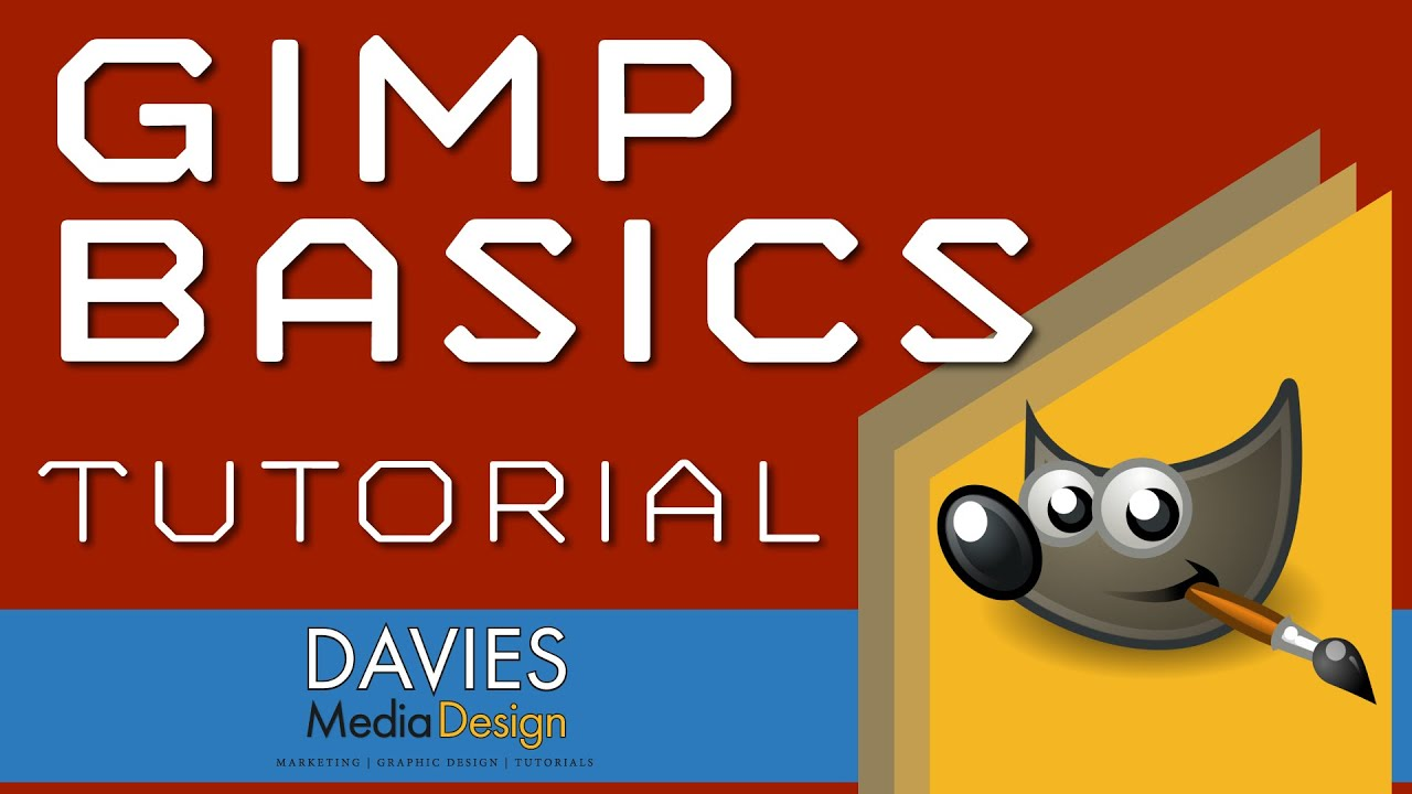 40+ best free gimp tutorials for beginners (drawing & painting).