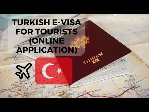 Turkish E-Visa For Tourists (Online Application)